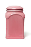 Ceramic container Royalty Free Stock Photography