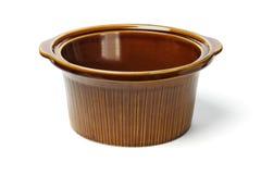 Ceramic cooking pot Royalty Free Stock Photos