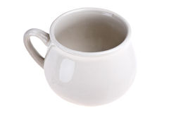 Ceramic cooking pot Royalty Free Stock Image