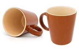 Ceramic cup Stock Images