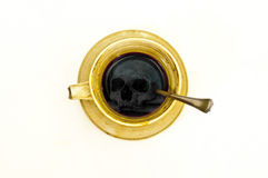 Death coffee Stock Photo