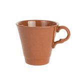 Ceramic cup with handle Royalty Free Stock Images