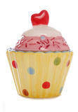 Ceramic cupcake ornament Royalty Free Stock Photos