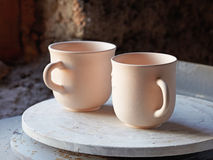 Ceramic cups Royalty Free Stock Photo