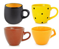 Ceramic cups Stock Photography