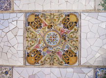 Ceramic Decoration Fragment Stock Photos