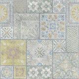 Ceramic decore wall tile texture royalty free stock photos