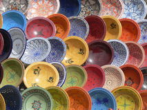 Ceramic dishes Royalty Free Stock Images