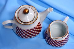 Ceramic dishes Royalty Free Stock Image