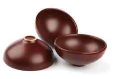 Ceramic dishware Stock Images