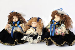 Ceramic dolls Stock Photos