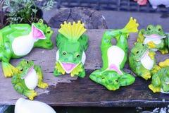 Ceramic dolls Royalty Free Stock Photography