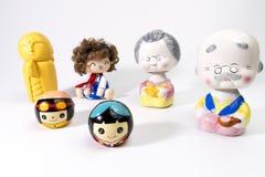 Ceramic dolls Stock Photos