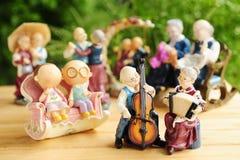 Ceramic dolls Stock Photography