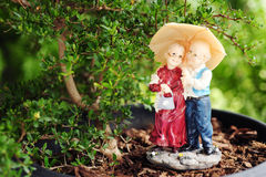 Ceramic dolls Royalty Free Stock Photo
