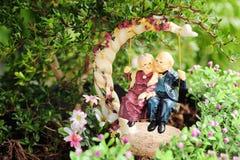 Ceramic dolls Stock Images