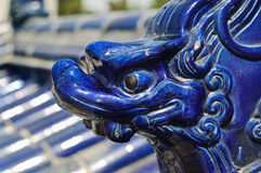 Ceramic Dragon Figure, Temple Of Heaven, Beijing Royalty Free Stock Photography