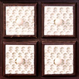 Ceramic drawers Stock Photo