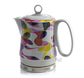 Ceramic electric kettle Royalty Free Stock Images