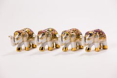 Ceramic Elephant Royalty Free Stock Photo