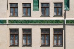 Ceramic Facade Royalty Free Stock Photo
