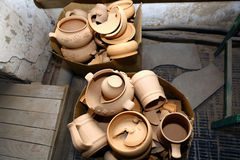 Ceramic factory Royalty Free Stock Images
