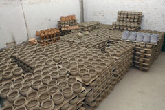 Ceramic factory Stock Image