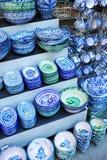 Ceramic of Fajalauza, Granada, Andalusia, Spain Stock Image