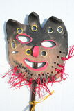 Ceramic fantasy mask Royalty Free Stock Images
