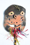 Ceramic fantasy mask Stock Images