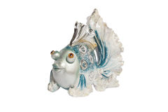 Ceramic figurine fish Stock Photo