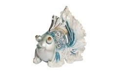 Ceramic figurine fish Stock Photo