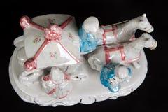 Ceramic figurine Stock Photography