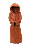 Ceramic figurine in the form of monastic cloak. Ceramic figurine in the form of the monastic cloak with hood Stock Photography