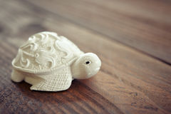 Ceramic figurine of turtle Royalty Free Stock Photography