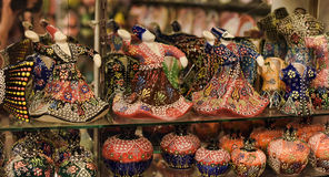 Ceramic figurines of dervishes Royalty Free Stock Photos