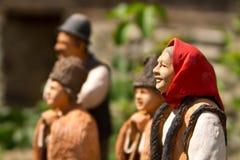 Ceramic figurines Stock Photos