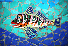 Ceramic Fish the Amalfi Coast, Italy Stock Photo