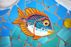 Ceramic Fish the Amalfi Coast, Italy Royalty Free Stock Photo
