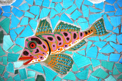 Ceramic Fish the Amalfi Coast, Italy Stock Photography