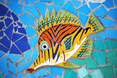 Ceramic Fish the Amalfi Coast, Italy Stock Photos