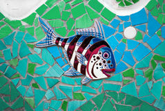 Ceramic Fish the Amalfi Coast, Italy Royalty Free Stock Images