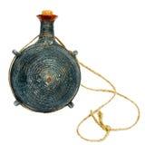 Ceramic flask Stock Image