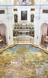 Ceramic floor of San Michele (Saint Michael) church, Anacapri Stock Images