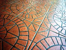 Ceramic floor tile Royalty Free Stock Photos