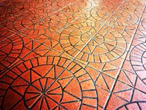 Ceramic floor tile Stock Images