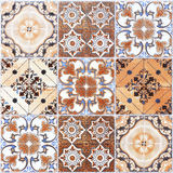 Ceramic Floor and Wall Tile background. Building construction material Stock Photos