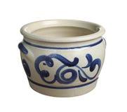 Ceramic flower pot Stock Photos