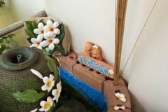 Ceramic flower Royalty Free Stock Photography