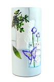 Ceramic flower vase Stock Photography